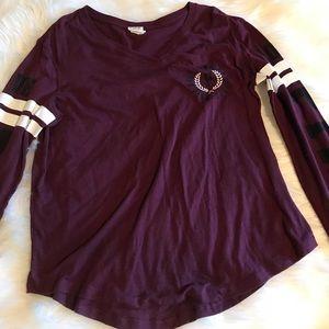 Long sleeve vs pink shirt